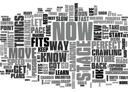 YOU HAVE WALK BEFORE YOU CAN LEARN TO RUN TEXT WORD CLOUD CONCEPT