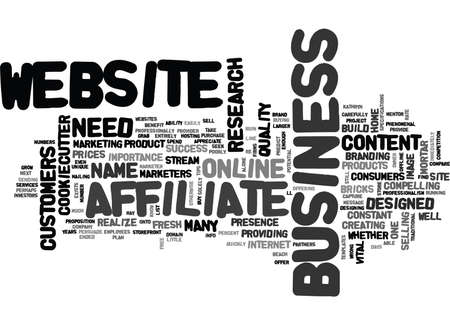 YOU NEED YOUR OWN WEBSITE WHETHER OR NOT YOU SELL ONLINE TEXT WORD CLOUD CONCEPT