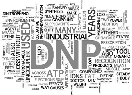 WHAT IS DNP TEXT WORD CLOUD CONCEPT