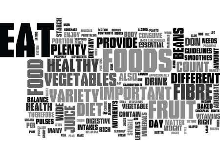 なぜ野菜や果物が重要なテキストの単語の雲の概念  イラスト・ベクター素材