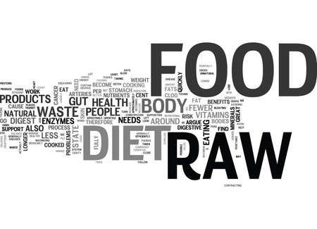 WHY GO RAW TEXT WORD CLOUD CONCEPT Çizim