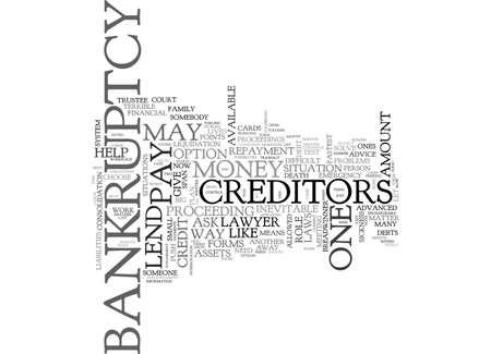 WHEN YOUR DEBTS GET TOUGHER TEXT WORD CLOUD CONCEPT