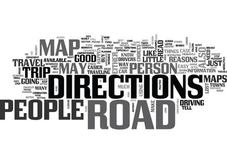 WHY HAVE A ROAD MAP TEXT WORD CLOUD CONCEPT