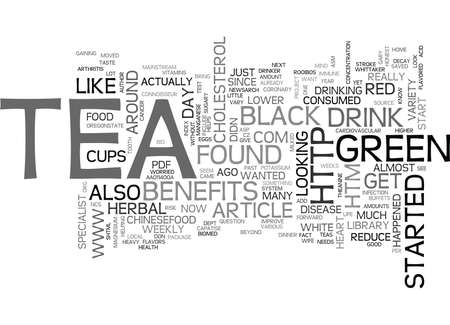 htm: WHY HERBAL TEA TEXT WORD CLOUD CONCEPT