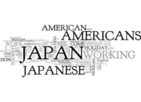 WHY ARE AMERICANS TREATED DIFFERENTLY IN JAPAN TEXT WORD CLOUD CONCEPT
