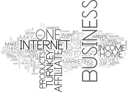 WHY ARE TURNKEY BUSINESS OPPORTUNITIES SO LUCRATIVE TEXT WORD CLOUD CONCEPT Illustration