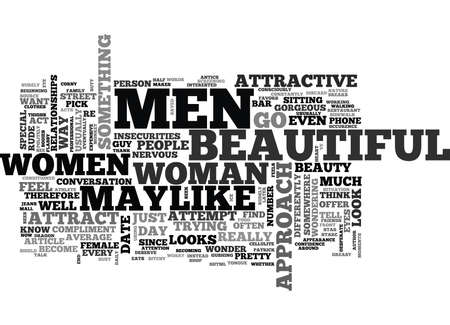 WHY ATTRACTIVE WOMEN ARE SO COLD TO MEN OR ARE THEY TEXT WORD CLOUD CONCEPT