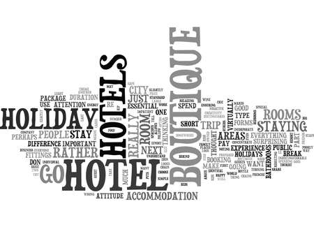 distinguishes: WHY CHOOSE BOUTIQUE TEXT WORD CLOUD CONCEPT