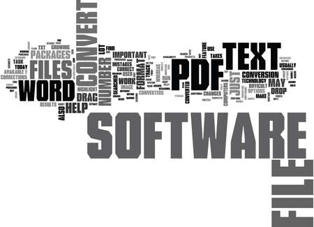 undertake: WHY CONVERT PDF TO TEXT AND HOW TO DO IT IN A BETTER WAY TEXT WORD CLOUD CONCEPT