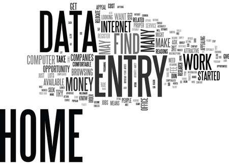 なぜ自宅からのデータ入力はテキスト WORD クラウドの概念は非常に魅力的
