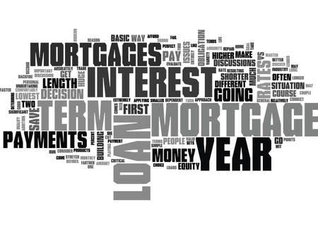 qualify: YEAR VS YEAR MORTGAGES TEXT WORD CLOUD CONCEPT