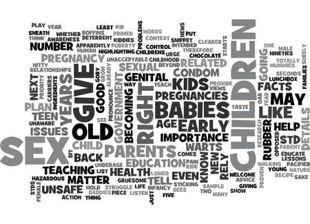 YEARS OLD AND PREGNANT TEXT WORD CLOUD CONCEPT Reklamní fotografie - 79578425