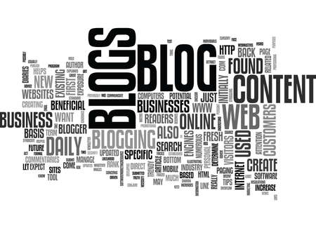 WEB BLOGS DEFINED EXPLAINED AND UNDERSTOOD TEXT WORD CLOUD CONCEPT