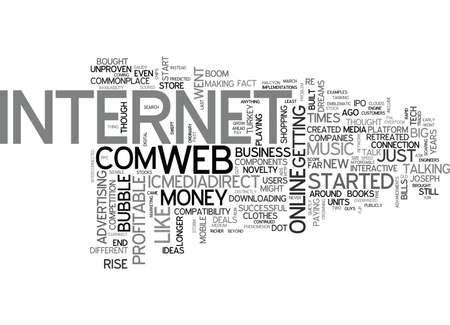 WEB BUILD ON IT TEXT WORD CLOUD CONCEPT