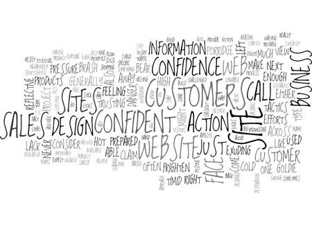 WEB DESIGN HOW CONFIDENT ARE YOU TEXT WORD CLOUD CONCEPT