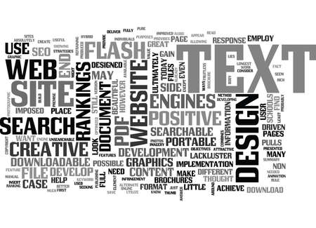 WEB DESIGN NON SEARCHABLE TEXT TEXT WORD CLOUD CONCEPT