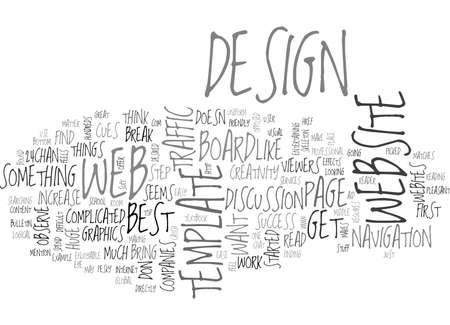 WEB DESIGN TEXT WORD CLOUD CONCEPT
