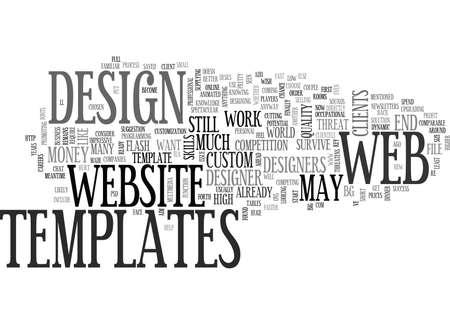 WEB DESIGNERS BEWARE TEXT WORD CLOUD CONCEPT
