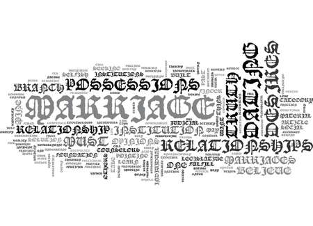 WHAT DESTROYS A MARRIAGE TEXT WORD CLOUD CONCEPT