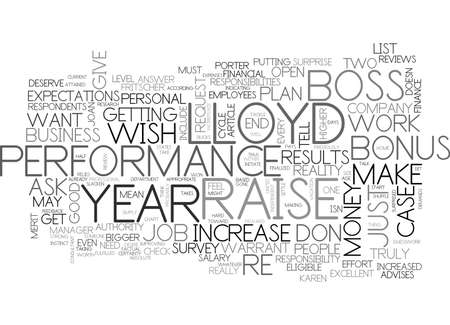 WHAT DO EMPLOYEES WISH FOR MOST AND HOW TO GET IT TEXT WORD CLOUD CONCEPT Vettoriali