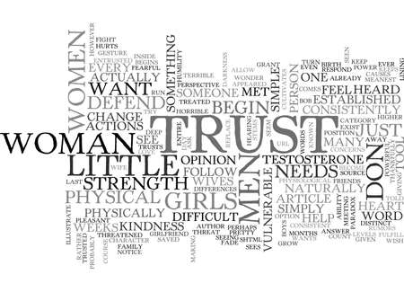 WHAT DO MEN WANT FROM WOMEN TEXT WORD CLOUD CONCEPT