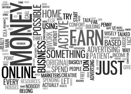 WHAT DO YOU HAVE TO BE TO SUCCEED IN A HOME BASED BUSINESS TEXT WORD CLOUD CONCEPT