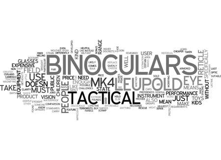 WHAT DO YOU KNOW ABOUT LEUPOLD MK TACTICAL BINOCULARS TEXT WORD CLOUD CONCEPT