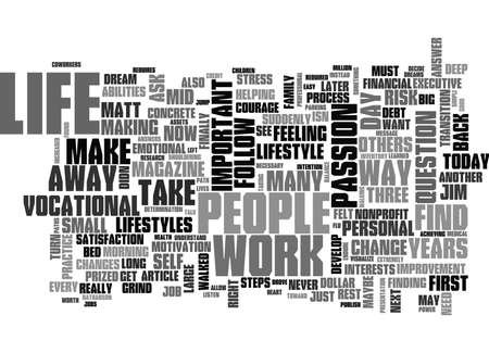 WHAT DO YOU PRIZE MOST IN MID LIFE TEXT WORD CLOUD CONCEPT