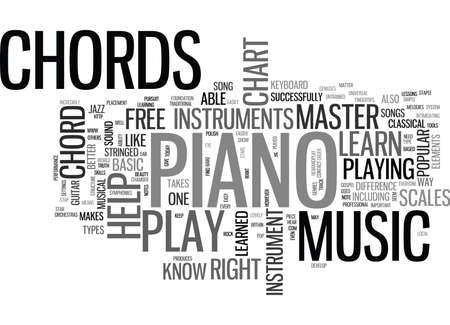 WHAT CAN A FREE PIANO CHORD CHART DO FOR YOU TEXT WORD CLOUD CONCEPT