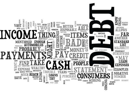 WHAT CAN I DO IF I AM IN DEBT TEXT WORD CLOUD CONCEPT