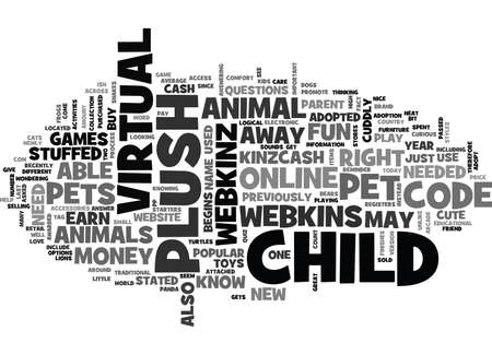 WHAT ARE WEBKINS PETS TEXT WORD CLOUD CONCEPT