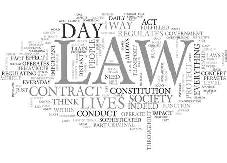 WHAT DOES THE LAW MEAN TO YOU TEXT WORD CLOUD CONCEPT Stok Fotoğraf - 79574784