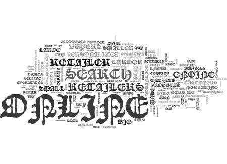 WHAT BIG ONLINE RETAILERS DON T WANT YOU TO KNOW TEXT WORD CLOUD CONCEPT 向量圖像