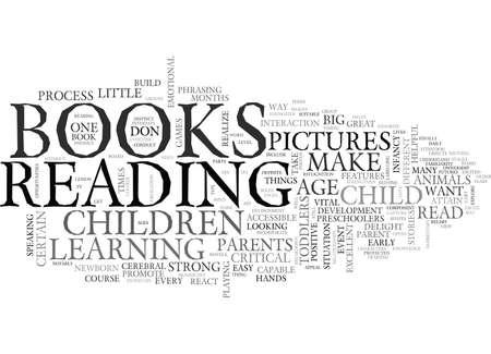 ce livres fait des enfants comme mot concept de texte de nuage