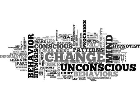WHY SEE A HYPNOTIST TEXT WORD CLOUD CONCEPT Vektorové ilustrace