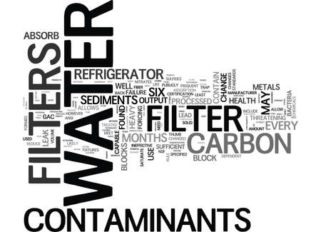 WHY SHOULD YOU CHANGE YOUR REFRIGERATOR WATER FILTER EVERY SIX MONTHS TEXT WORD CLOUD CONCEPT