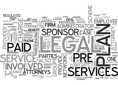 WHO IS INVOLVED IN LEGAL SERVICES TEXT WORD CLOUD CONCEPT