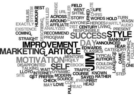 WHO IS JIM EDWARDS AND WHY IS HE ONE OF MY MENTORS AND HEROES TEXT WORD CLOUD CONCEPT Banco de Imagens - 79615181