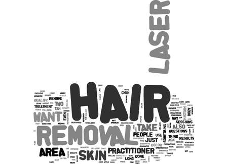 WHO IS LASER HAIR REMOVAL FOR TEXT WORD CLOUD CONCEPT