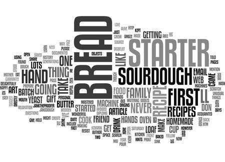 WOULD YOU LIKE TO LEARN HOW TO BAKE BREAD TEXT WORD CLOUD CONCEPT