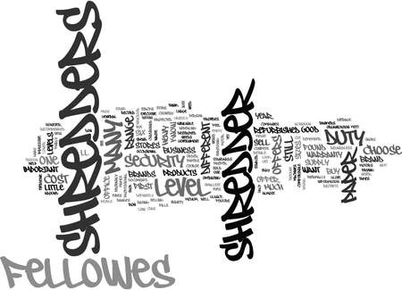stapled: WHO MAKES GOOD PAPER SHREDDERS TEXT WORD CLOUD CONCEPT Illustration
