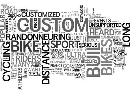 道路自転車テキスト単語雲概念を組み込まれて人のニーズ カスタム