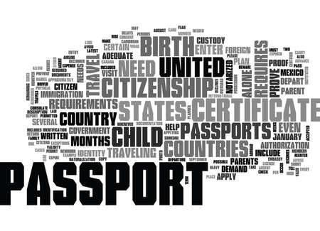 WHO NEEDS A PASSPORT TEXT WORD CLOUD CONCEPT