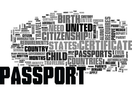 notarized: WHO NEEDS A PASSPORT TEXT WORD CLOUD CONCEPT