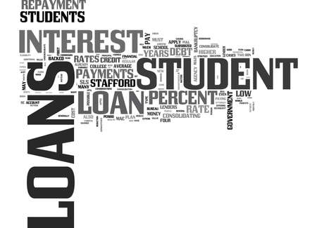 stafford: WHAT EVERYONE OUGHT TO KNOW ABOUT STUDENT LOANS TEXT WORD CLOUD CONCEPT