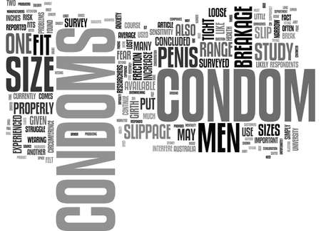 WHO SAYS PENIS SIZE IS NOT IMPORTANT TEXT WORD CLOUD CONCEPT