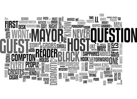 disappear: WHAT GRABS YOUR READER TEXT WORD CLOUD CONCEPT Illustration