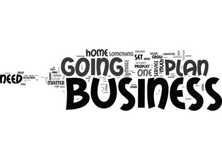 WHAT IS A BUSINESS PLAN TEXT WORD CLOUD CONCEPT Иллюстрация