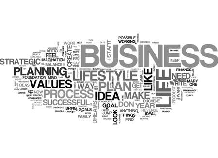 semblance: YOUR BUSINESS OR YOUR LIFE WHY NOT BOTH TEXT WORD CLOUD CONCEPT Illustration