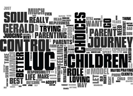 YOUR CHILDREN ARE ON THEIR OWN SOUL S JOURNEY TEXT WORD CLOUD CONCEPT